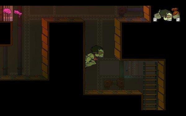 three dead zed screenshot corridor
