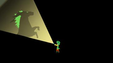Boogey Boy screenshot - shadow horse