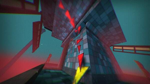 tri screenshot - up a wall