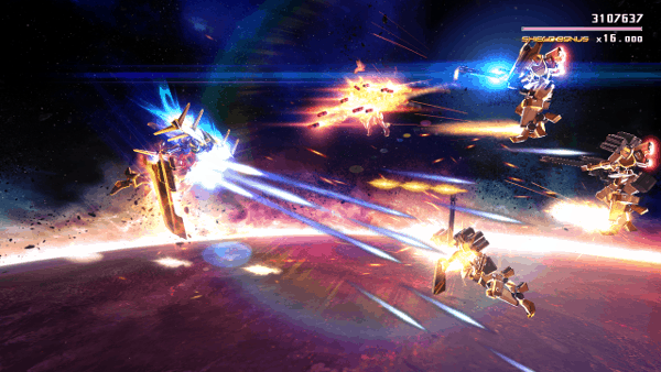 Astebreed screenshot - Space