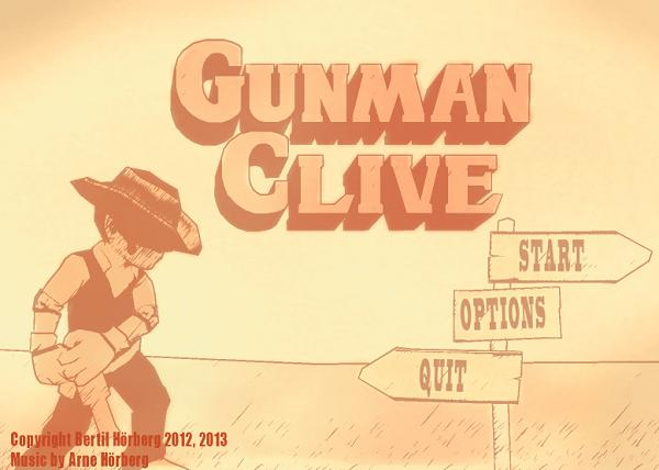 Gunman Clive box art