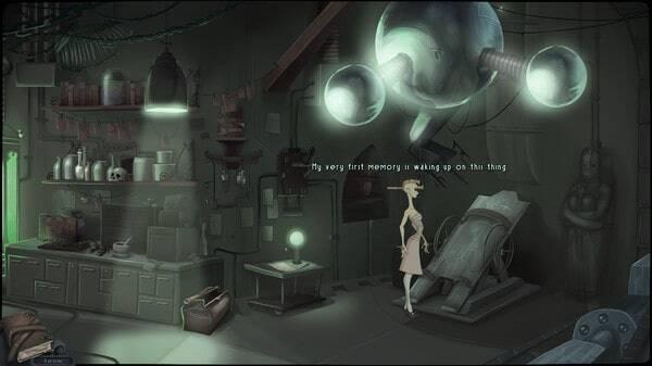Belladonna, laboratory scene