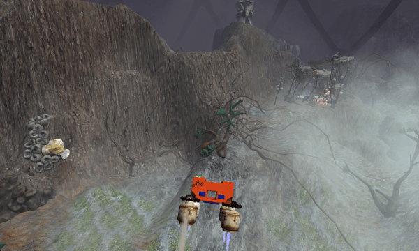 Crashed Lander screenshot - Fog
