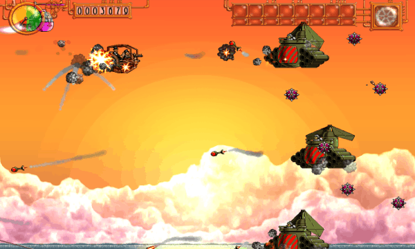 Steam Bros 2 screenshot - Sunset