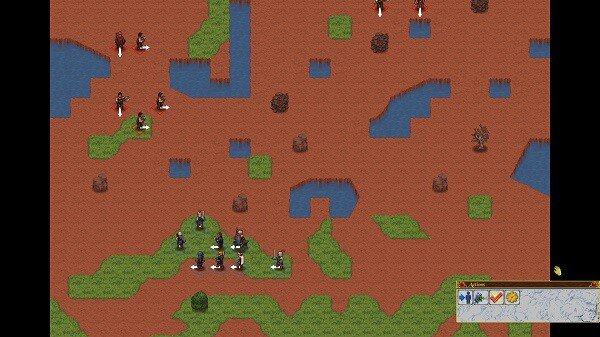 Telepath Tactics: environmental features