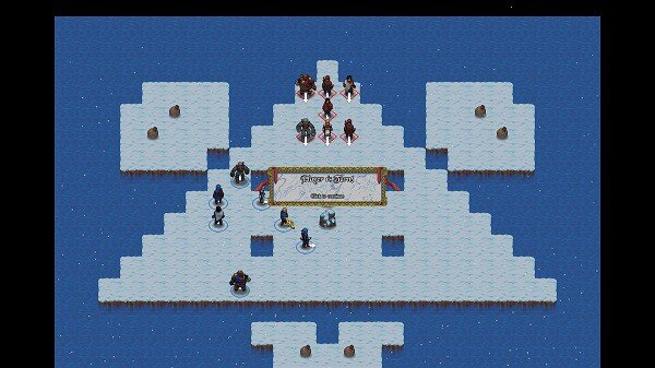 Telepath Tactics: local match on ice floes