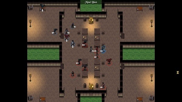 Telepath Tactics: local match in a tavern