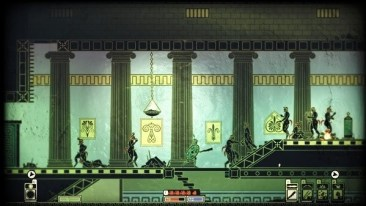 Apotheon: breaking up a party of satyrs