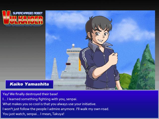 Vulkaiser screenshot - Yamashita