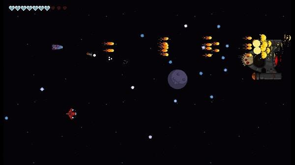 Out There Somewhere: the shoot 'em up portion
