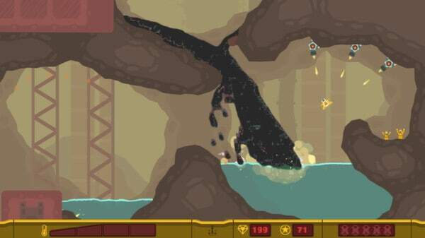 PixelJunk Shooter screenshot