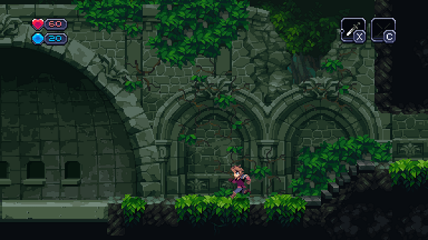 Chasm: screenshot courtesy of official site