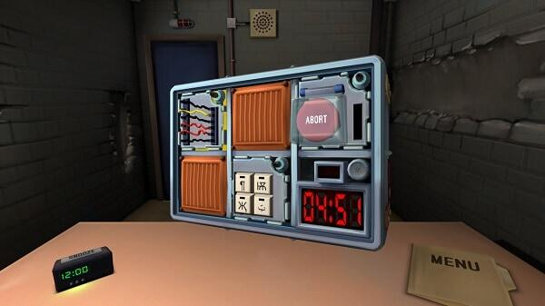 Keep Talking and Nobody Explodes: screenshot courtesy of official site