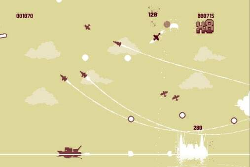 Luftrausers: screenshot courtesy of Steam