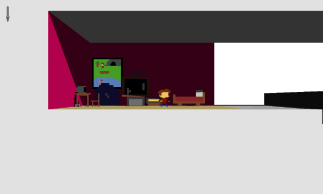 Super Hipster screenshot - Room