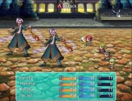 RPG Maker MV battle