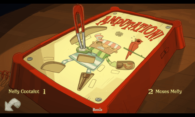 Nelly Cootalot game screenshot, Operation