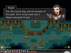 Aveyond 4 game screenshot, money