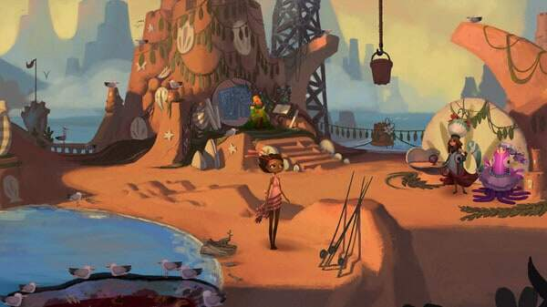 Broken Age game screenshot, courtesy Steam