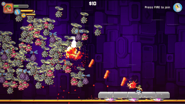 Greedy Guns game screenshot - swarm