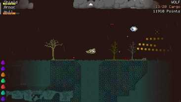 Mysterious Space game screenshot, haunted