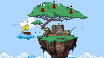 The Magical Silence game screenshot, platform