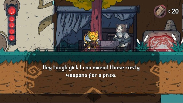 Hunter's Legacy game screenshot, blacksmith