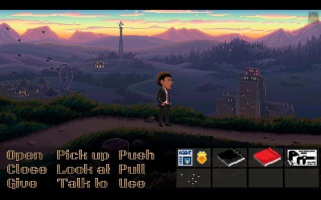 Thimbleweed Park Screen