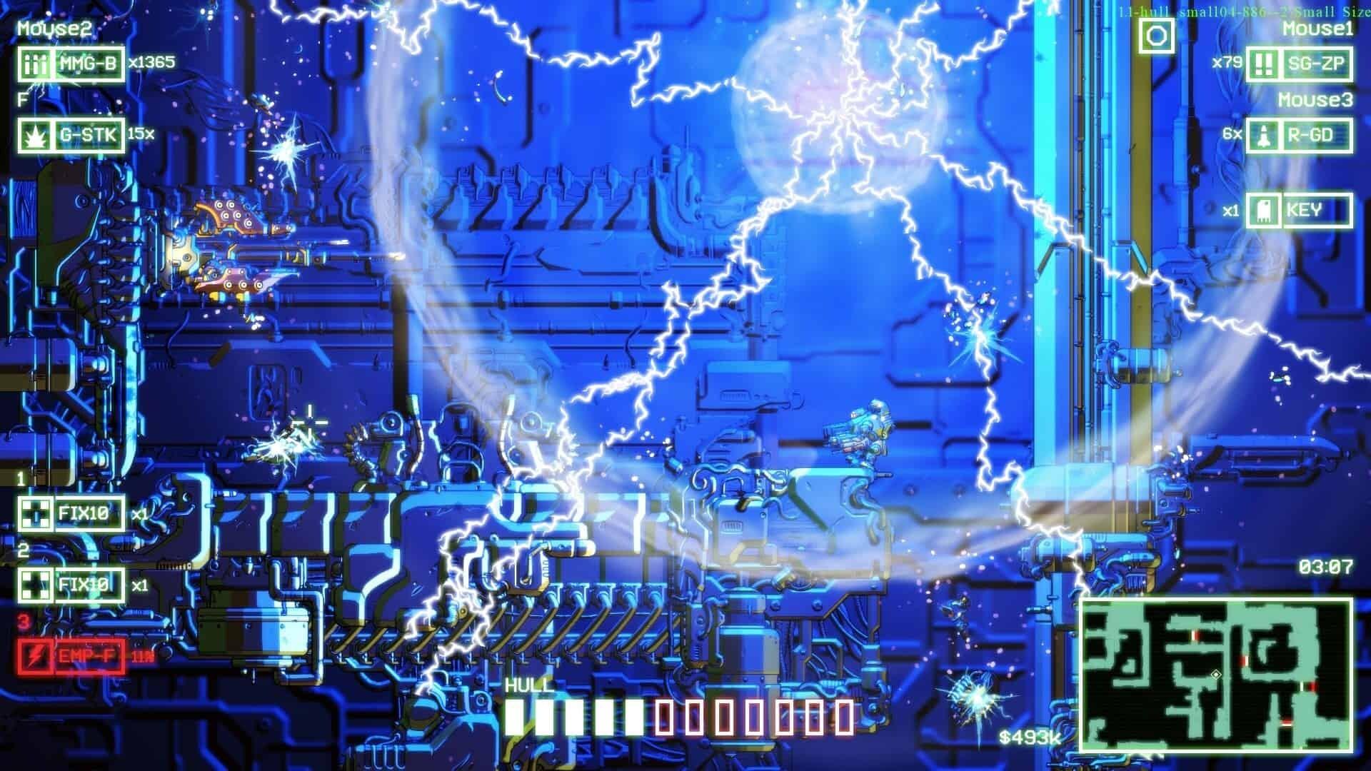 Cryptark game screenshot, EMP