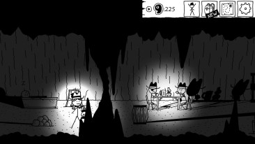 West of Loathing screenshot cave