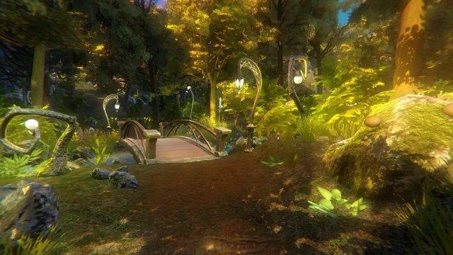 Caligo game screenshot - woods