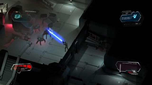 Divide game screenshot, combat