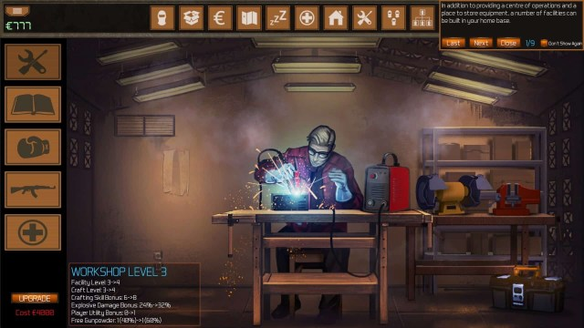 Vigilantes game screenshot, workshop