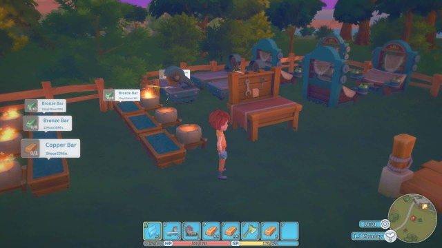 My Time at Portia game screenshot courtesy Steam