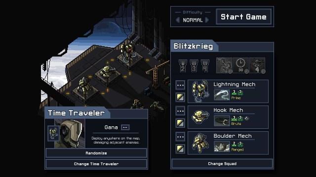 into the breach menu screen