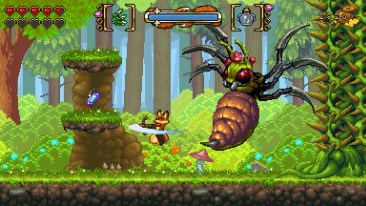 FOX n FORESTS game screenshot 3 courtesy Steam