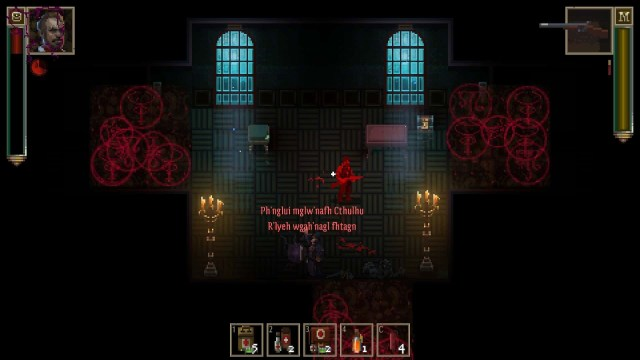 Lovecraft's Untold Stories game screenshot, fight scene