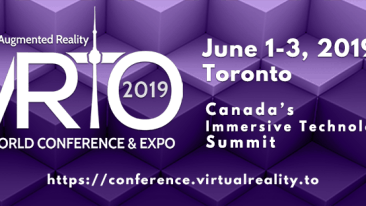 Virtual and Augmented reality conference canada