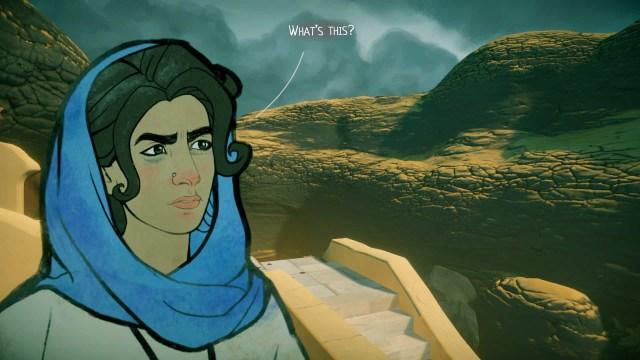 Heaven't Vault game screenshot question