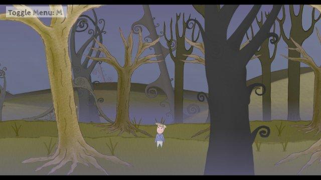 Haustoria game screenshot, forest