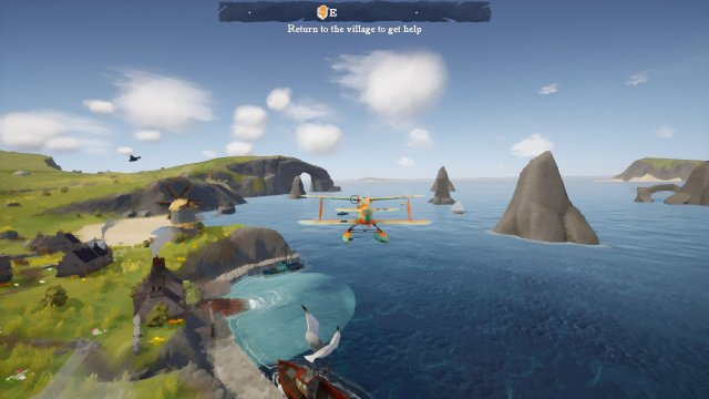 Skye game screenshot