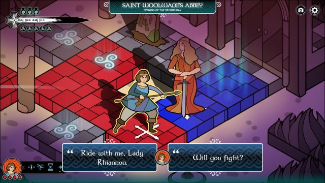 Pendragon game screenshot, would you fight?