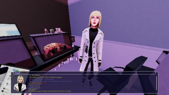 Stars Die game screenshot 1, scientist