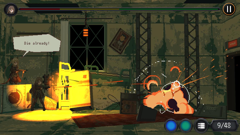 Marfusha game screenshot, Close Quarters