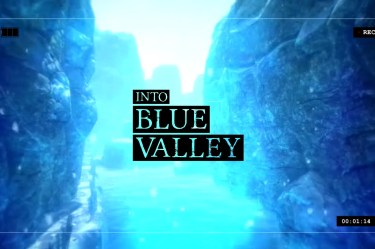 Into blue valley