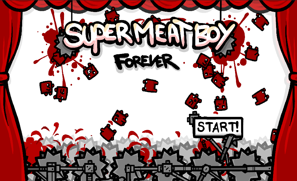 Super Meat Boy Forever angekündigt