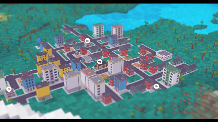 Voxel Tycoon' Creates a Thriving Economy from the Ground Up