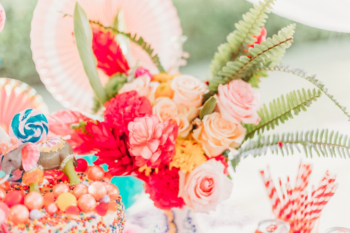 Kids Greatest Showman Birthday Party inspiration for Indie Kin
