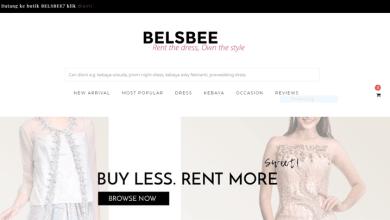 Belsbee Platform Persewaan Gaun Online Karya disainer Tanah Air.