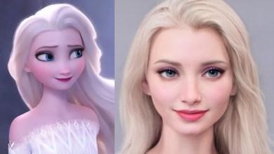 Wajah nyata karakter Disney (Foto via Disney dan Instagram @toyboyfan)